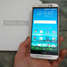 HTC One M9 aproape impecabil la cutie - Telefon HTC, Argintiu, Neblocat