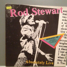 ROD STEWART - ABSOLUTELY LIVE - 2LP SET (1982/WARNER/RFG) - Vinil/Impecabil(NM) - Muzica Pop