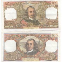 Franta 1973 - 100 francs cc - Timbre straine