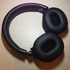 Casti audio cu banda Sony MDRZX750BNB, Bluetooth, Izolare Zgomot, Negru, Casti On Ear