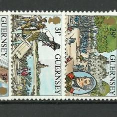 Guernsey 1984 - 100th John Doyle, serie neuzata