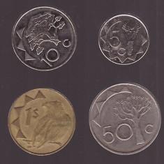 Lot monede Namibia, 4 diferite - Jetoane numismatica