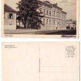 Reghin 1940(aprox.) - Gimnaziul german, ilustrata necirculata