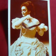 Fotografie color, dedicatie si autograf - Eugenia Moldoveanu - Metropolitan Opera