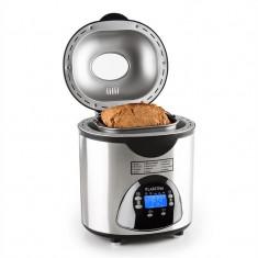 KLARSTEIN CITY LIFE, aparat pentru copt pâine, 580 W, până la 900 g, cu accesorii din oțel inoxidabil - Detector metale