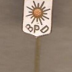 Insigna BPD Blocul Partidului Democrat, electorala 1946, mica