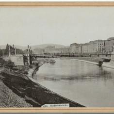 Foto 1897 Viena - Stefaniebrucke - Fotografie