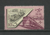 SERIE EGIPT--LOCOMOTIVE--1957 MNH, Nestampilat
