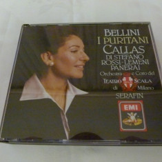 Bellini - I Puritani - Callas - Muzica Opera emi records, CD