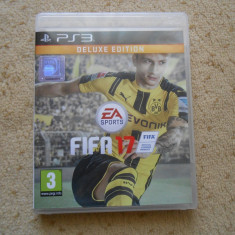 FIFA17 PS3 DELUXE EDITION - Jocuri PS3 Ea Sports, Sporturi, 3+