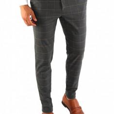 Pantaloni tip ZARA gri - pantaloni barbati - pantaloni office - 7882, Marime: S, Culoare: Din imagine