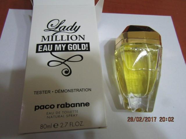 Parfum Tester Lady Million Eau My Gold 80 Ml Super Pret