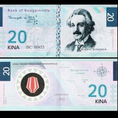 Bougainville Island 2016 - 20 kina UNC - Carte de calatorie