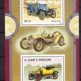 Sao Tome 1983 - Automobile de epoca, bloc neuzat