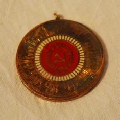 Medalie A 50a aniversare a Partidului Comunist Roman, 8 mai 1971 PCR, comunism - Medalii Romania