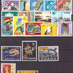 Ghana - lot timbre neuzate