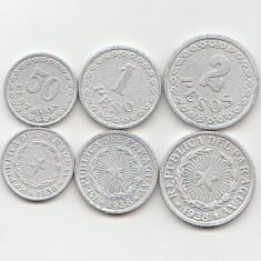 Lot monede Paraguay 1938 cc - Jetoane numismatica