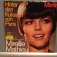 MIREILLE MATHIEU - MARTIN (1969/ARIOLA REC/RFG) - VINIL Single/RAR/ca NOU - Muzica Pop Altele