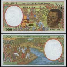 Central African Republic 2000 - 1000 francs UNC - Muzica Ambientala