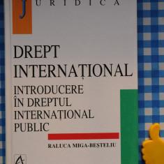 Drept International introducere in drept international public Raluca M Besteleiu - Carte Drept international
