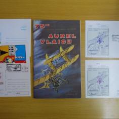 1987 - Aerosocfilex Tg, Mures, set pliant-plicuri si carti posta