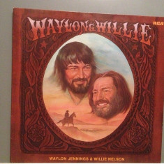 WILLIE NELSON & W.JENNINGS - WAYLON & WILLIE(1978/RCA/RFG) - Vinil/Impecabil(NM) - Muzica Country rca records