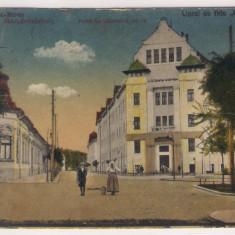 Targu Mures (Marosvasarhely) - Scoala superioara com., 1918