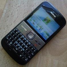 Vand Nokia e5 - Telefon mobil Nokia E5, Negru, Neblocat