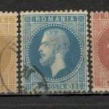 Romania.1872 Carol I-Paris XR.6 - Timbre Romania, Stampilat