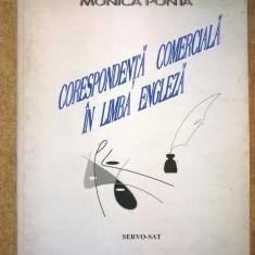 Monica Ponta - Corespondenta comerciala in limba engleza - Carte in engleza