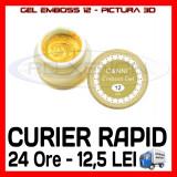 GEL EMBOSS CANNI 12 - PICTURA 3D PT LAMPA UV, MANICHIURA GEL, GELURI COLOR - Gel unghii Sina