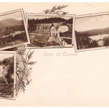Tusnad - Ilustrata litho aprox. 1900, gara