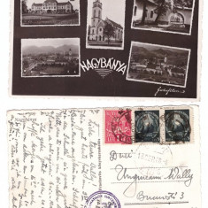 Baia Mare 1948 - mozaic - Carte Postala Maramures dupa 1918