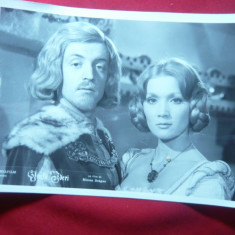 Fotografie din Filmul Fratii Jderi, actorii St.Velniciuc si Valeria Ogasanu - Autograf