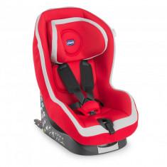 Scaun auto Chicco Go-One Baby cu Isofix, Red, 12luni+ - Scaun auto copii