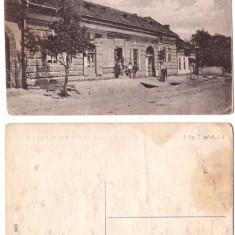 Band (Mures) - Casa de economii, ilustrata ca.1915-1920