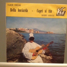 MARIO ABBATE - CAPRI SI TTU (1963/VIS RADIO/ITALY) - VINIL Single/RAR/ca NOU - Muzica Pop Altele