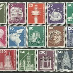 Bundes 1975 - industria, serie neuzata - Timbre straine