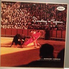 SUNDAY IN SPAIN - BANDA MUNICIPAL DE.. (1959/CAPITOL/USA) - Vinil/Impecabil (NM) - Muzica Latino capitol records