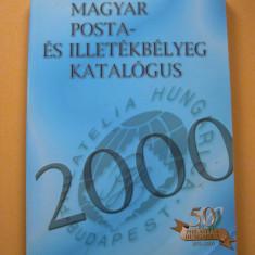 Catalogul timbrelor (marcilor postale) din Ungaria anul 2000