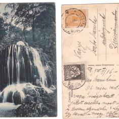 Resita 1925 - Cascada Raului Bee, ilustrata circulata