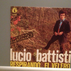 LUCIO BATTISTI - RESPIRANDO (1977/RCA REC/SPAIN) - VINIL Single/RAR/ca NOU - Muzica Pop Altele