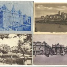 Lot carti postale Franta 1920, uzate