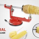 Aparat manual de spiralat cartofi Spiral Potato Slicer - Curatator legume, fructe