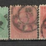 Romania.1879 Carol I-Bucuresti II XR.7 - Timbre Romania, Stampilat