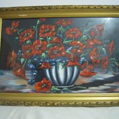 Vand tablou vaza cu flori. - Reproducere