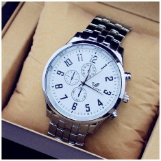 Ceas Quartz Casual Elegant ORLANDO Business Watch 3 Culori CALITATE GARANTATA - Ceas barbatesc, Inox, Analog