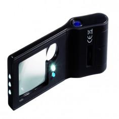 Lupa 6 in 1, incl. microscop, cu iluminare si UV
