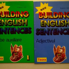 Eugene J. Hall - Building English Sentences {2 volume} - Carte in engleza