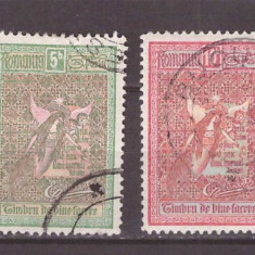 1906 - Ingerii, serie stampilata